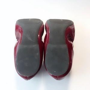 Ralph Lauren Shoes - RLL Ralph Lauren Burgundy Flats
